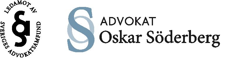 Advokat Oskar Söderberg logotyp